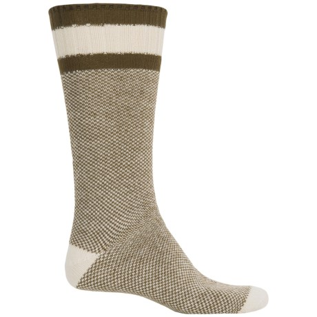Wigwam Whipper Snapper Socks - Crew (For Men) in Natural / Olive