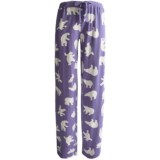 Wild & Cozy by Hatley Cotton Jersey Drawstring Pants (For Women)
