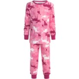 Wild & Cozy by Hatley Cotton Jersey Pajamas - Long Sleeve (For Kids)