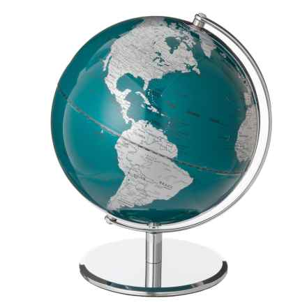 "Wild & Wolf Metallic Globe - 10"" in Petrol Blue - Closeouts"