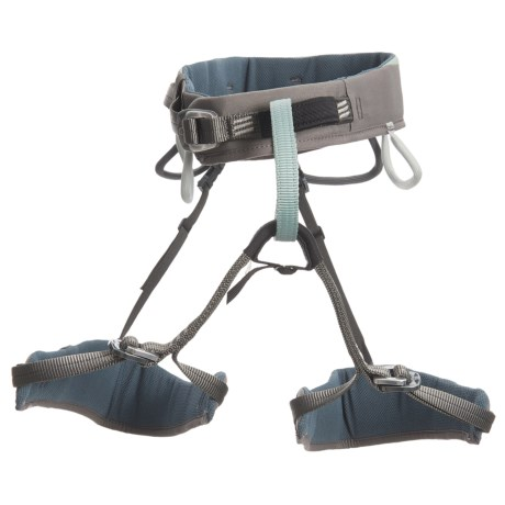 Wild Country Aurora Climbing Harness (For Women) in Light Grey/Grey
