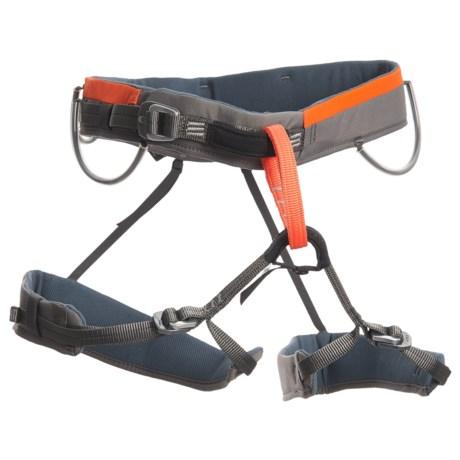 Wild Country Blaze Climbing Harness (For Men) in Orange/Grey