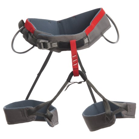 Wild Country Boost Climbing Harness (For Men) in Red/Grey