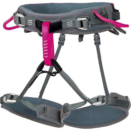 Wild Country Spire Climbing Harness (For Women) in Pink/Grey