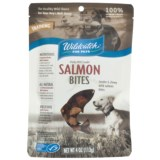 Wildcatch Wild Alaskan Salmon Bites Dog Treats - 4 oz.
