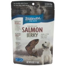 Wildcatch Wild Alaskan Salmon Jerky Dog Treats - 4 oz. in See Photo - Closeouts