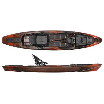 "Wilderness Systems A.T.A.K. 140 Fishing Kayak - 14'1"" in Dusk - 2nds"