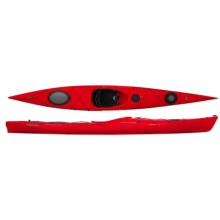 "Wilderness Systems R15 Focus Touring Kayak - 15.5"" in Red - 2nds"