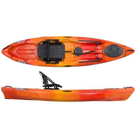 "Wilderness Systems Ride 115 Fishing Kayak - 11.6"" in Mango - 2nds"