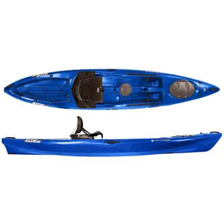 "Wilderness Systems Ride 135 Recreational Kayak - 13'6"", High Seat in Blue - Closeouts"