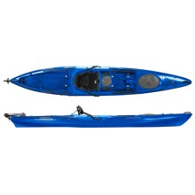 Wilderness Systems Tarpon 140 Touring Kayak with Rudder -14' in Blue - 2nds