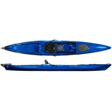 Wilderness Systems Tarpon 160 Touring Kayak - Rudder, 16' in Blue - Closeouts