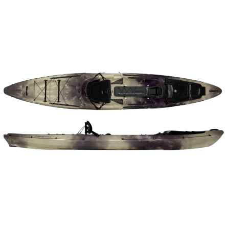 "Wilderness Systems Thresher 140 Fishing Kayak - 14'3"" in Flint - Closeouts"