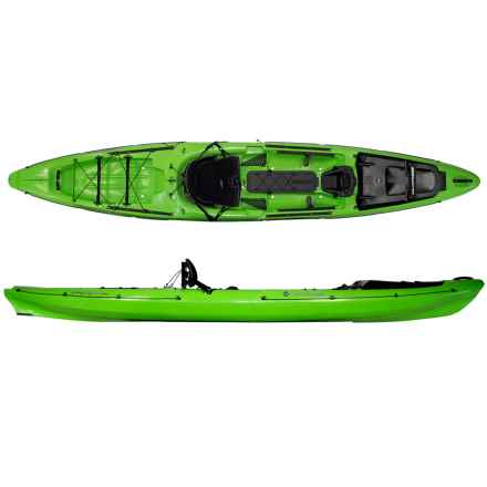 "Wilderness Systems Thresher 14.0 Fishing Kayak - 14'3"" in Lime - 2nds"