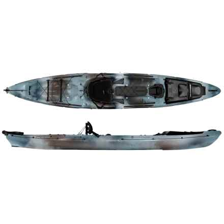 "Wilderness Systems Thresher 140 Fishing Kayak with Rudder - 14'3"" in Desert Camo - Closeouts"