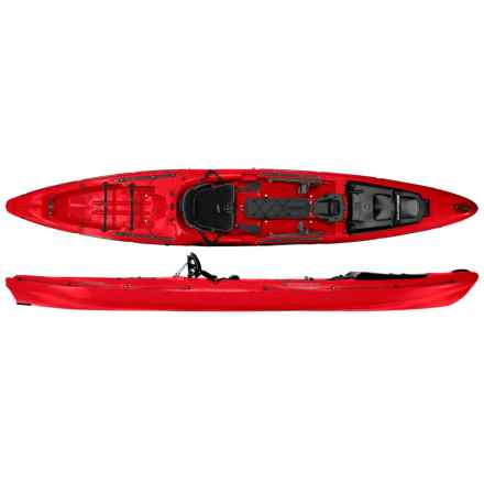 "Wilderness Systems Thresher 155 Fishing Kayak - 15'6"" in Red - Closeouts"