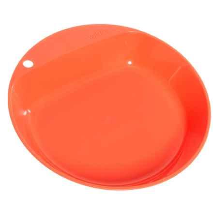 Wildo Camper Deep Plate in Orange - Closeouts