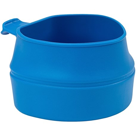 Wildo Fold-a-Cup Convertible Travel Cup - Small in Light Blue