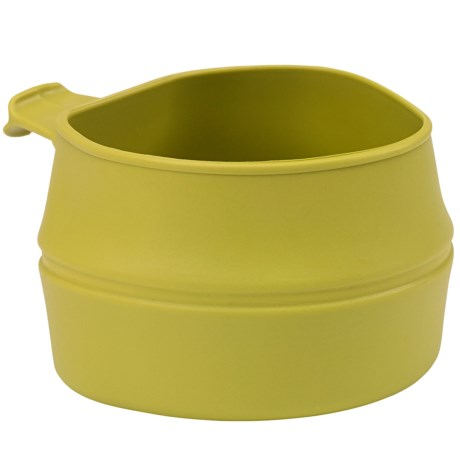 Wildo Fold-a-Cup Convertible Travel Cup - Small in Lime