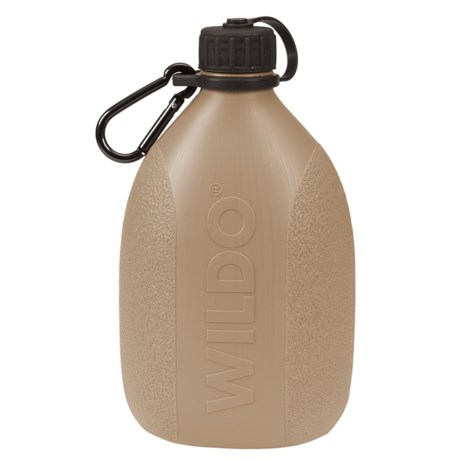 Wildo Hiker Water Bottle - BPA-Free in Tan