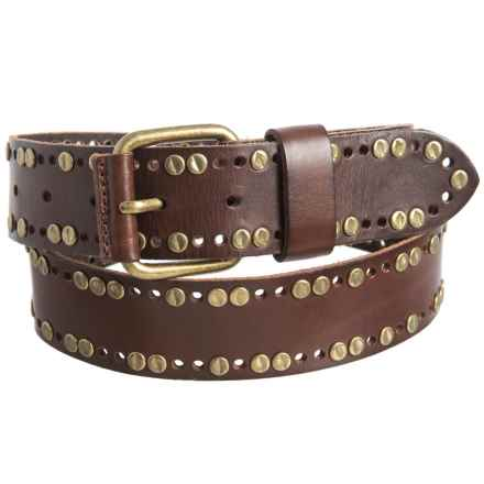 Will Leather Goods Clint Belt - Leather (For Men) in Brown - Closeouts