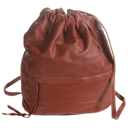Will Leather Goods Cloud Backpack (For Women) in Cognac - Closeouts