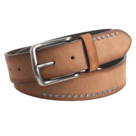 Will Leather Goods Daniel Belt - Leather (For Men) in Brown - Closeouts