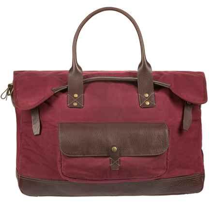 Will Leather Goods Elk Cove Duffel Bag in Crimson - Closeouts