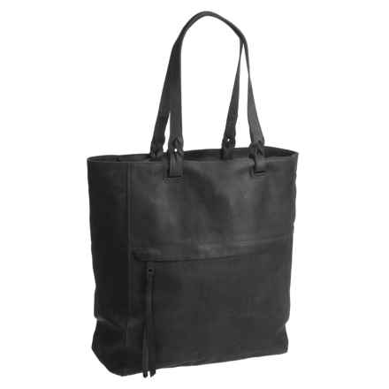 Will Leather Goods Feather Tote Bag (For Women) in Black - Closeouts