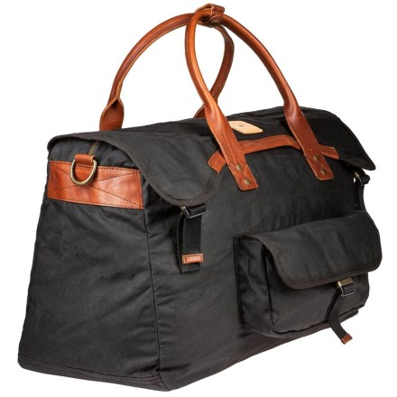 3efa4946001c Will Leather Goods Fern Duffel Bag (For Men) in Black