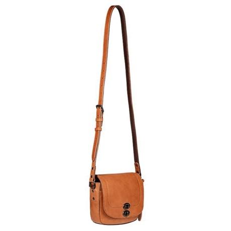Will Leather Goods Mini Seneca Crossbody Bag - Leather (For Women) in Tan 10e113932