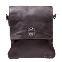 Will Leather Goods Otto Crossbody Bag - Expandable in Brown - Closeouts