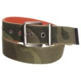 Will Leather Goods Reversible Camo Belt (For Men)
