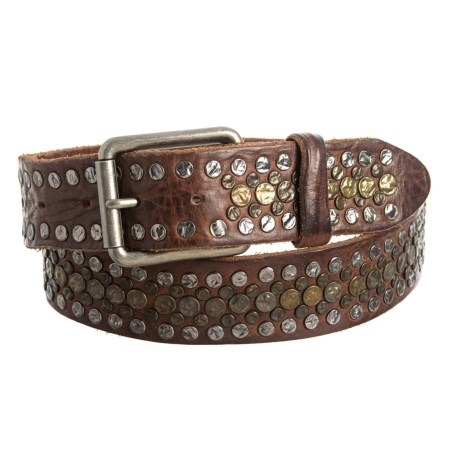 Will Leather Goods Singer Belt - Leather (For Men) in Brown