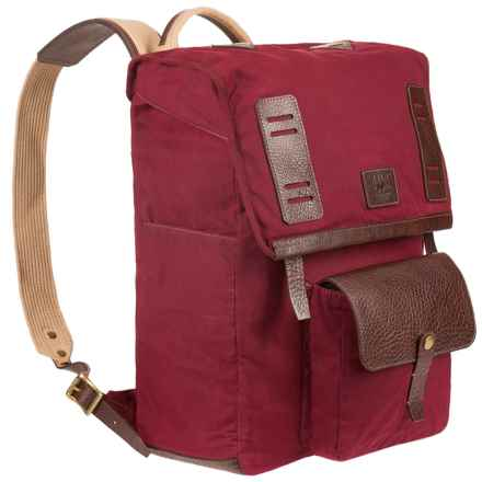 Will Leather Goods Timberline Travel Backpack in Crimson - Closeouts