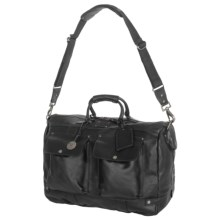 Will Leather Goods Traveler Duffel Bag - Leather in Black - Closeouts