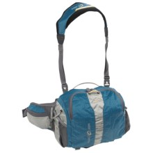 William Joseph Atoll Fanny Pack in Blue - Closeouts