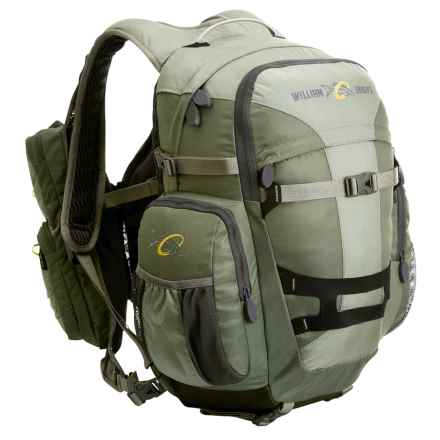 William Joseph Exodus II Fishing Pack - 18L in Sage - Closeouts