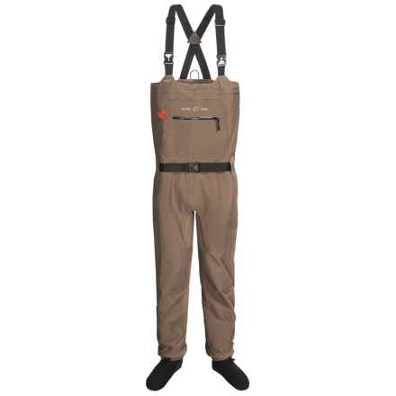 William Joseph WST Waders - Stockingfoot (For Men) in Brown - Closeouts
