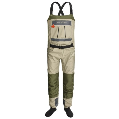William Joseph WST Waders - Stockingfoot (For Men) in Brown