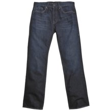 William Rast Jackson Jeans - Slim Straight Leg (For Men) in Dark Sea - Closeouts