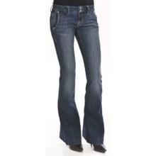 William Rast Jade Trouser Denim Jeans (For Women) in Dresden - Closeouts