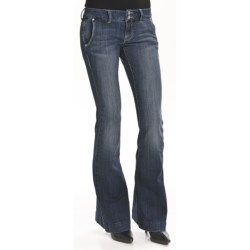 William Rast Jade Trouser Denim Jeans (For Women) in Dresden