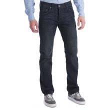 William Rast Luke Straight-Leg Denim Jeans - Button Fly (For Men) in Ria - Closeouts