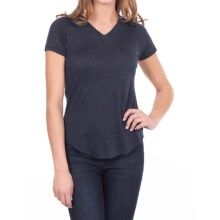 William Rast Pocket T-Shirt - Short Sleeve (For Women) in Indigo - Closeouts