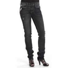 William Rast Savoy Classic Skinny Leg Jeans (For Women) in Black Betty - Closeouts