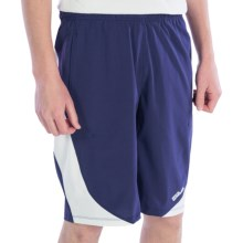 "Wilson 11"" Woven Shorts - UPF 30+ (For Men) in Navy/White - Closeouts"