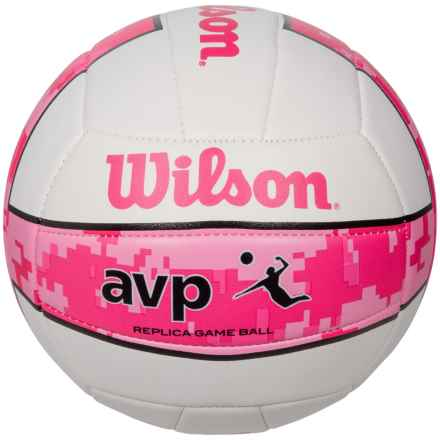 Wilson AVP Camo Volleyball - Official Size in Pink - Closeouts