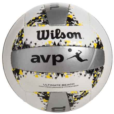 Wilson AVP Official Ultimate Beach Volleyball in See Photo - Closeouts