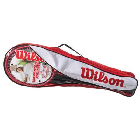 Wilson Badminton Tour Set in See Photo